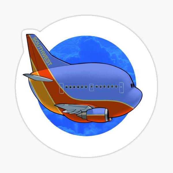 Southwest 737 (old livery) Sticker