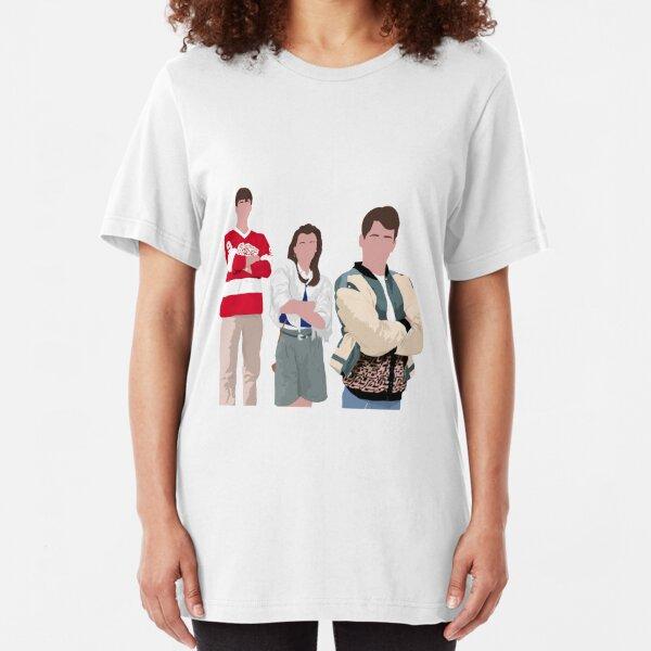 Ferris Bueller Art Slim Fit T-Shirt