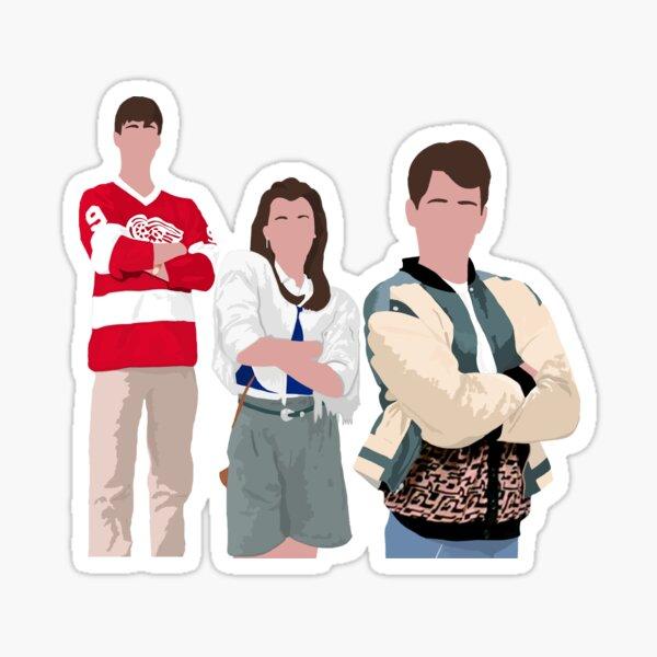 Ferris Bueller Art Sticker
