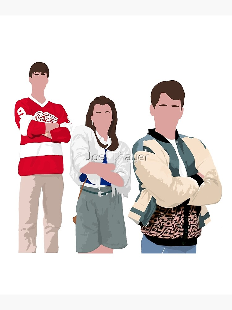 Ferris Bueller Art by JoelThayer
