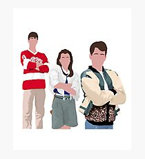 Ferris Bueller Kunst Fotodruck