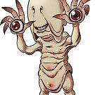Pale Man Sticker - Terror Toddler by thecalgee