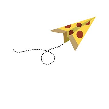 Pizza Delivery (Paper Airplane) by ErinIsBatgirl