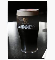 Make mine a pint of Guinness! Poster