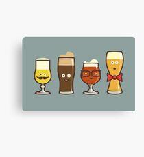 Beer Geeks Canvas Print