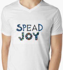 spread joy Men's V-Neck T-Shirt