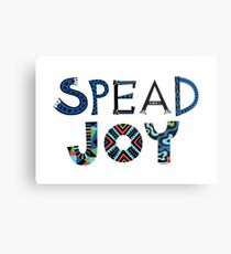 spread joy Metal Print