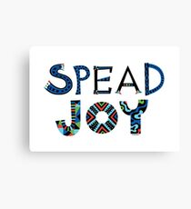 spread joy Canvas Print