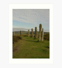 Ring O' Brodgar Art Print