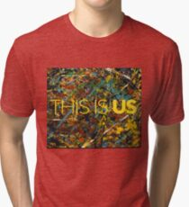 This is Us Painting Tri-blend T-Shirt