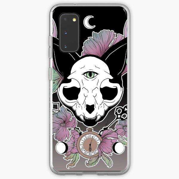 Twilight -- Skull Cat Samsung Galaxy Soft Case