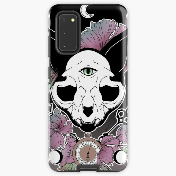 Twilight -- Skull Cat Samsung Galaxy Tough Case