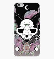 Twilight -- Skull Cat iPhone Case