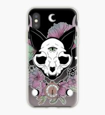 Twilight -- Skull Cat iPhone Case