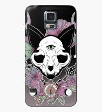 Funda/vinilo para Samsung Galaxy Crepúsculo - gato del cráneo