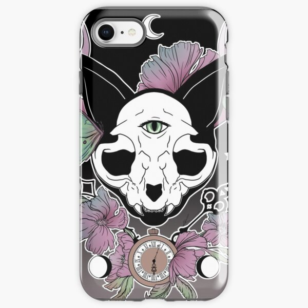 Twilight -- Skull Cat iPhone Tough Case