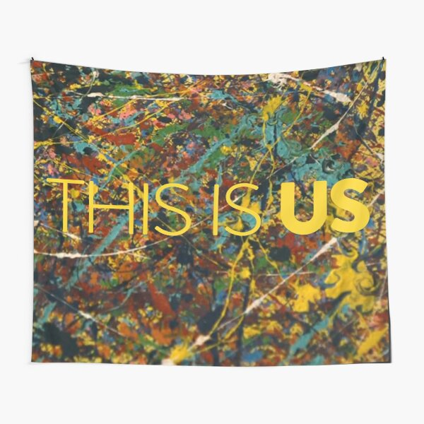 This is Us Painting Tapestry