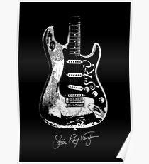 Stevie Ray Vaughan - Guitar-Blues-Rock-legend-SRV Poster