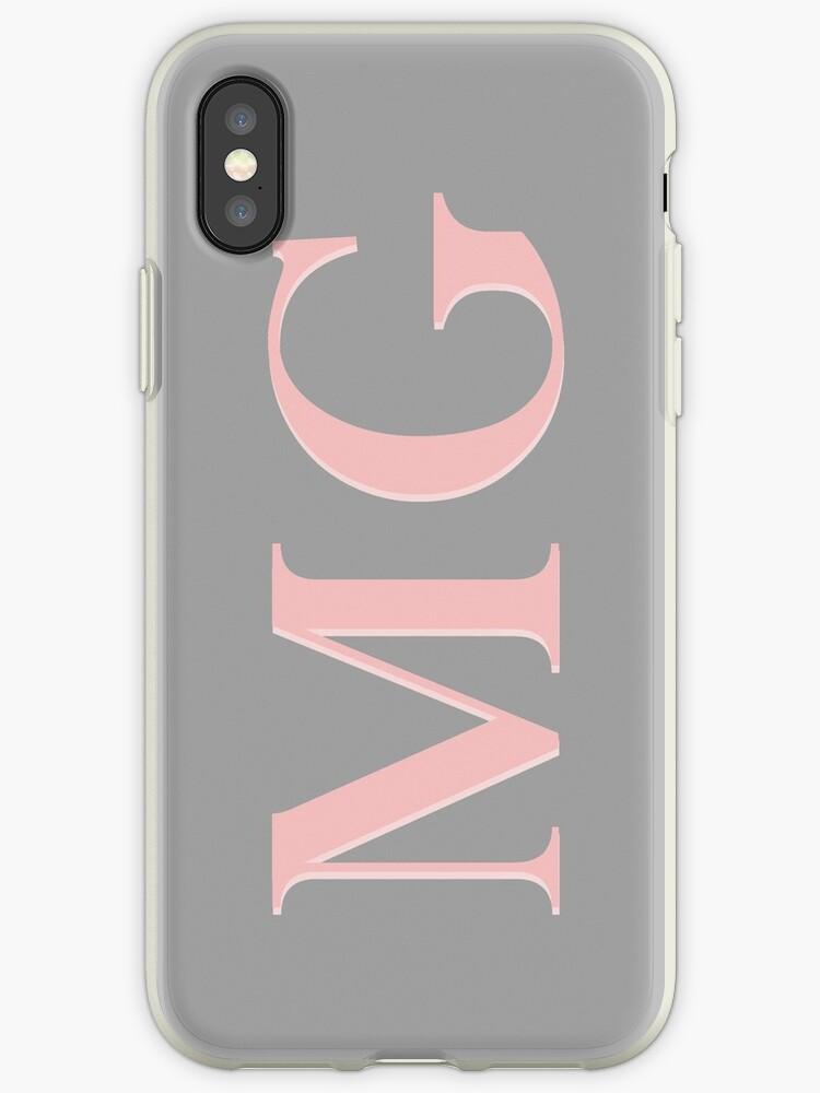 iphone xs case initials