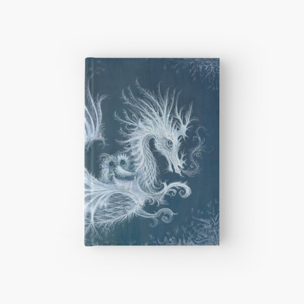 Frost Dragon Hardcover Journal