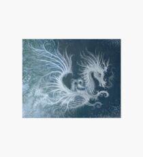 Frost Dragon Art Board