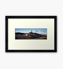MT. BROMO PANORAMA - EAST JAVA  Framed Print