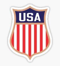 USA Frauen Hockey Sheild Sticker