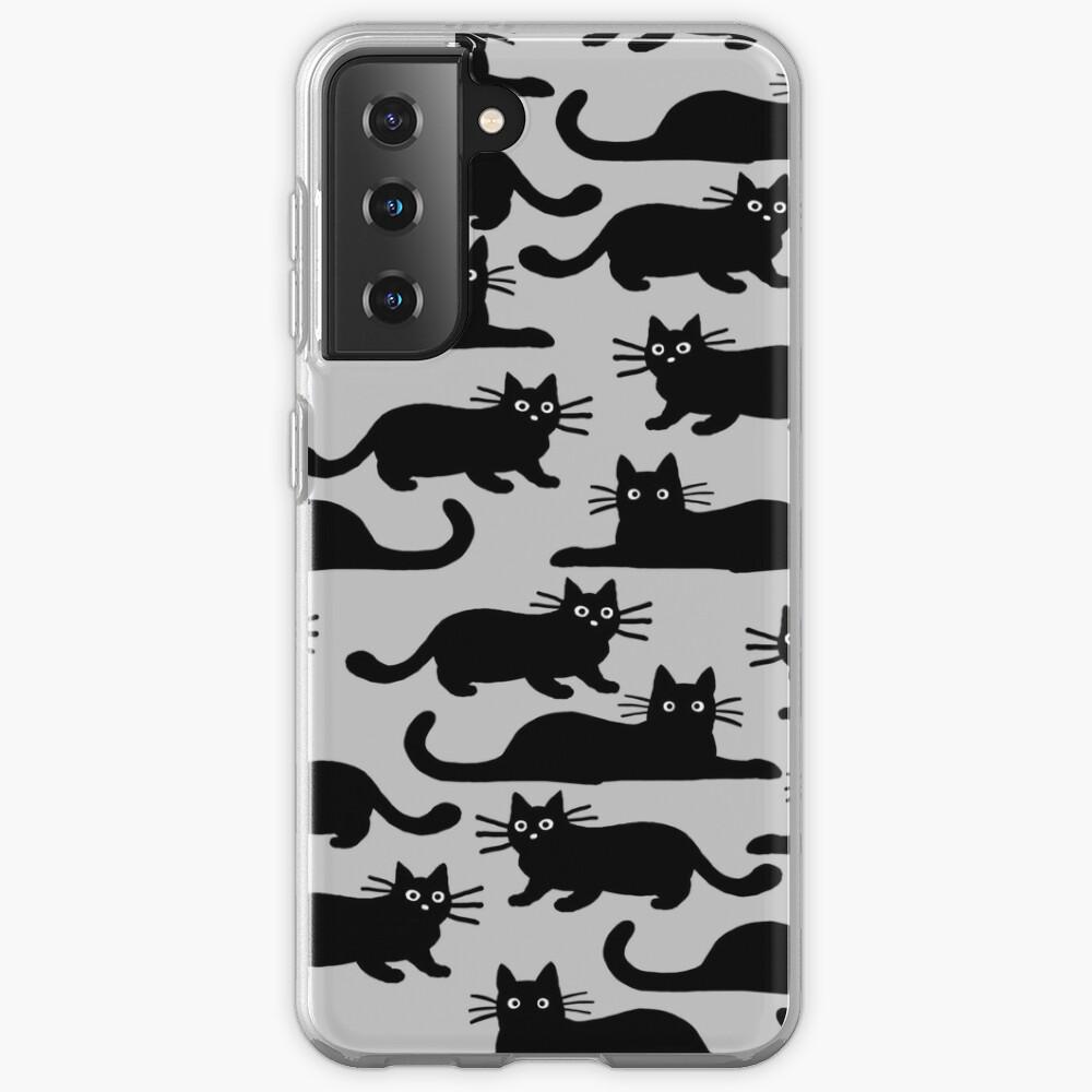 Black Cat Case & Skin for Samsung Galaxy