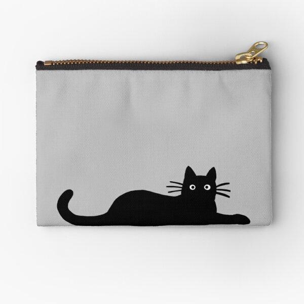 Black Cat Zipper Pouch