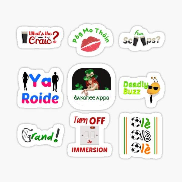 Irishmoji Magic Sticker Pack 4 Sticker