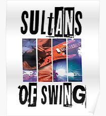 Sultans of Swing T-shirt Poster