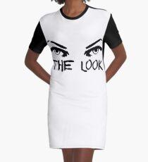 The Look Eye Makeup Fashion Beauty Blogger T-Shirts Graphic T-Shirt Dress
