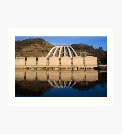 Tumut 3 Power Staion, Snowy Mountains Art Print