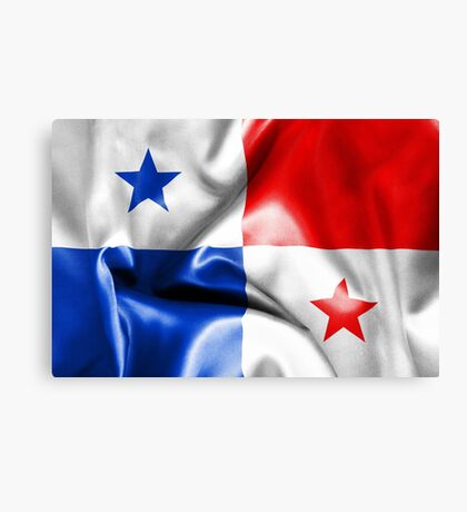 Panama Flag Canvas Print