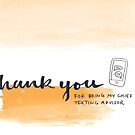 Modern Greetings: Texting Advisor by Rachel Davidson