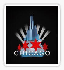 Chicago the Windy City Sticker