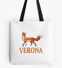 Verona Fox Tote Bag