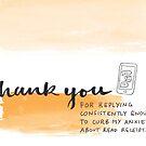 Modern Greetings: Read Receipts by Rachel Davidson