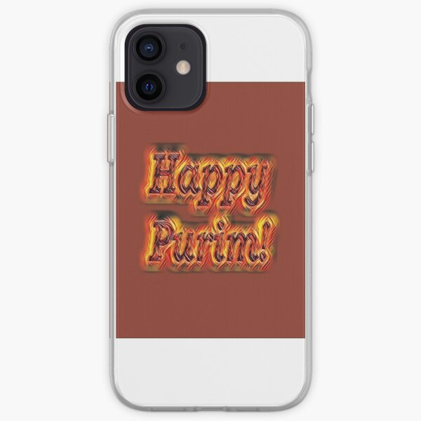 Jewish,  Happy Purim! iPhone Soft Case