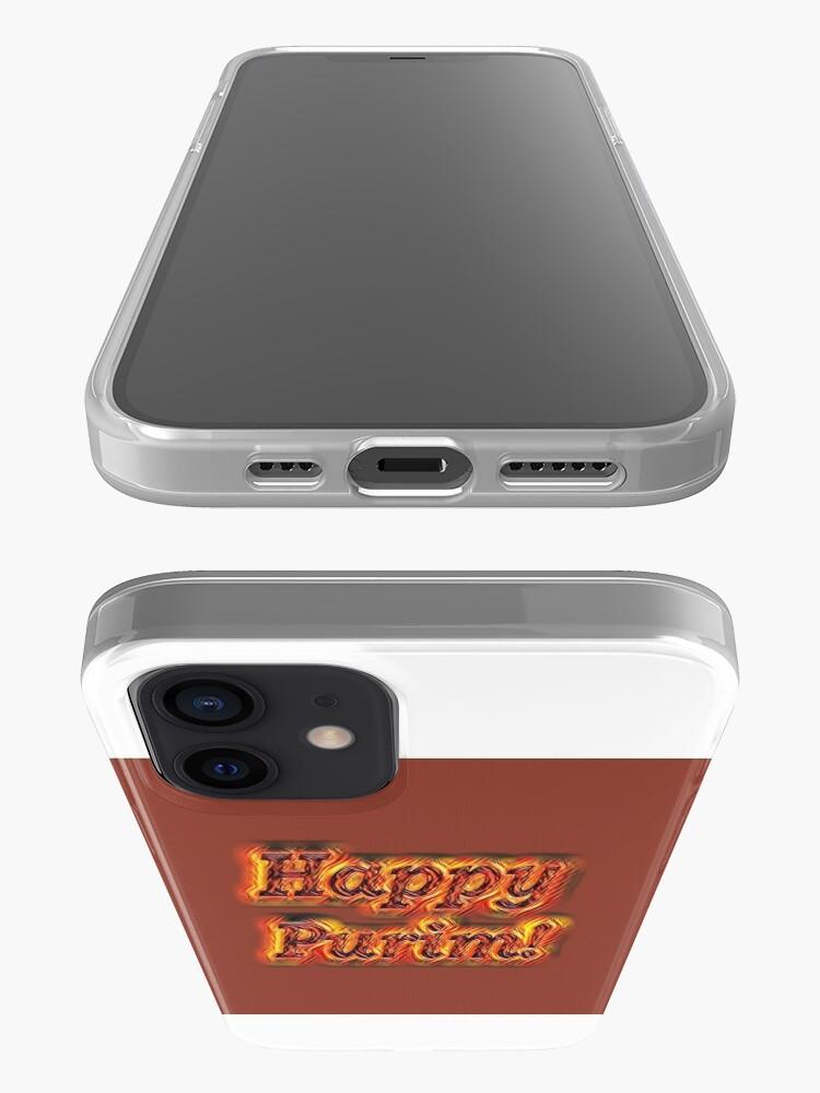 Alternate view of Happy Purim! iPhone Case