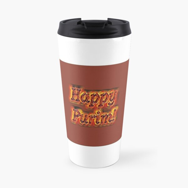 Happy Purim! Travel Mug