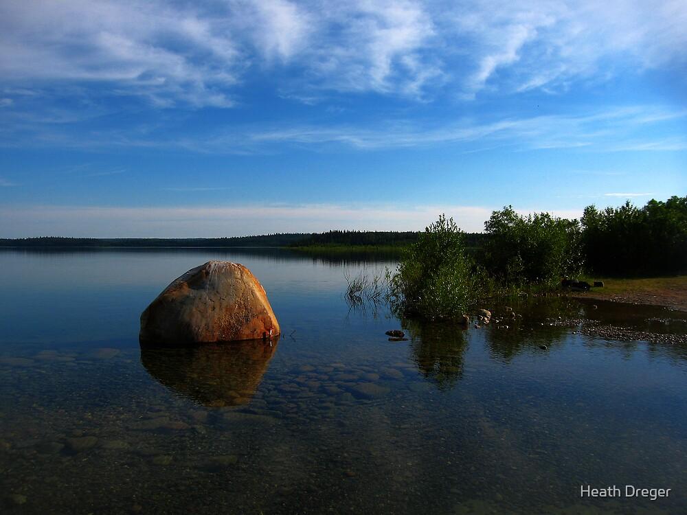 Whiteswan Lake by Heath Dreger