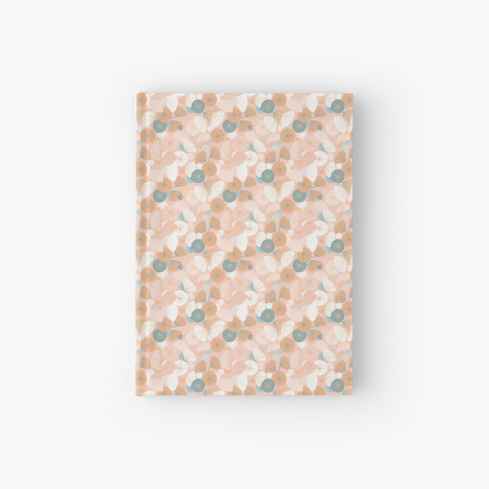 Abstarct Poppies Hardcover Journal