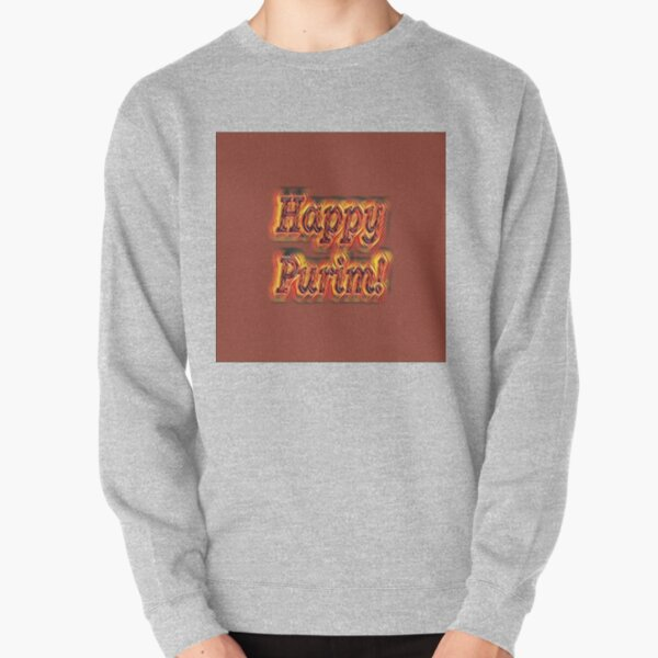 Jewish,  Happy Purim! Pullover Sweatshirt