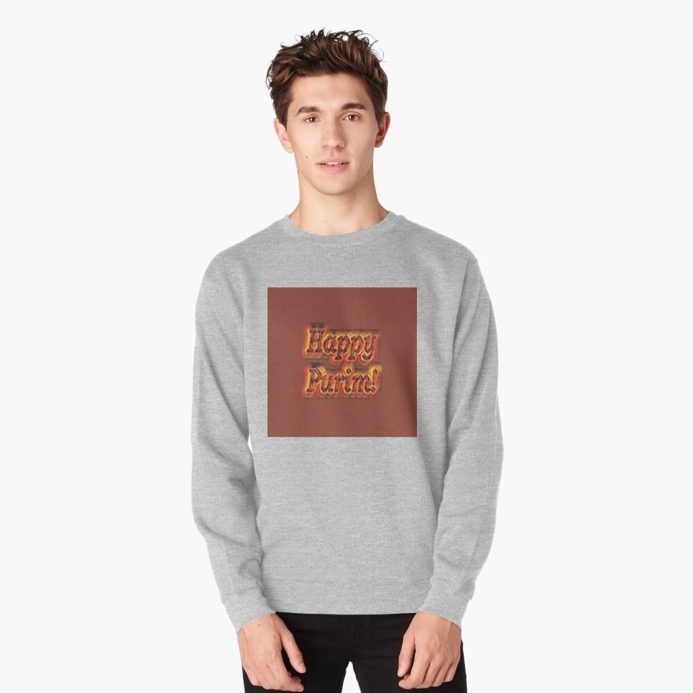 Happy Purim! Pullover Sweatshirt