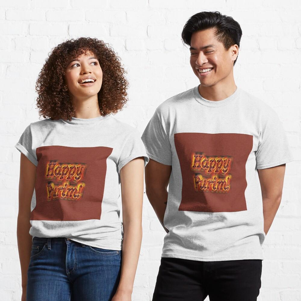 Happy Purim! Classic T-Shirt