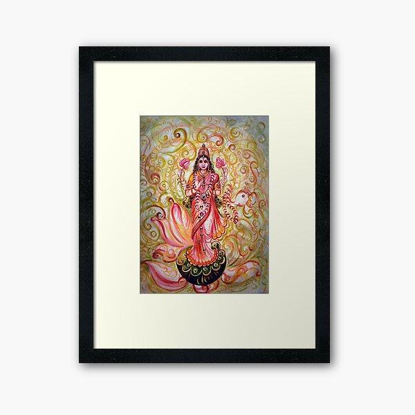 Lakshmi Darshnam Framed Art Print