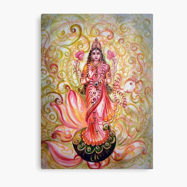 Lakshmi Darshnam Metal Print