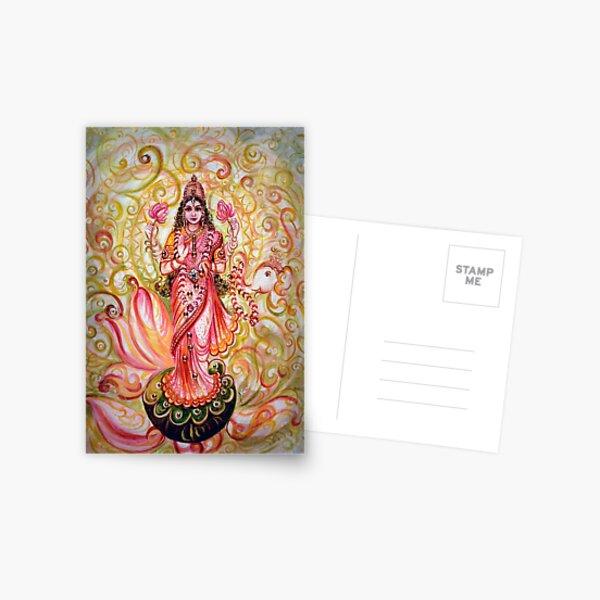 prospérité (à la fois matérielle et spirituelle) Carte postale