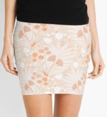 Pastel pink Tropicals Mini Skirt